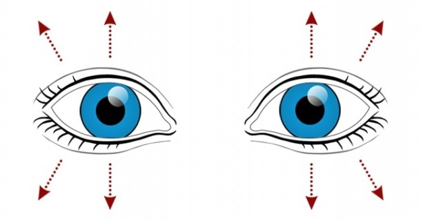un antrenament pentru vederea ochiului)