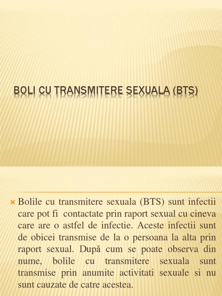 boli cu transmitere sexuală și vedere)