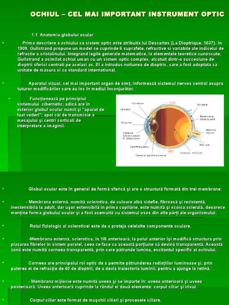 Metode de Investigatie in Oftalmologie