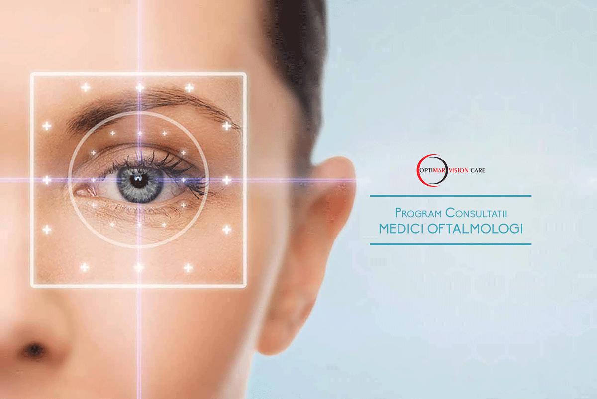 Consultații oftalmologice Bistrița - OftalmoMED Bistrița