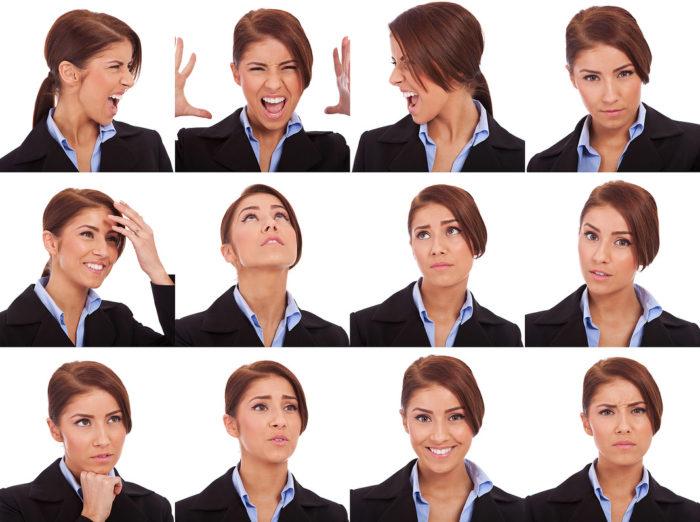expresii faciale dispret analiza fonetică a vederii