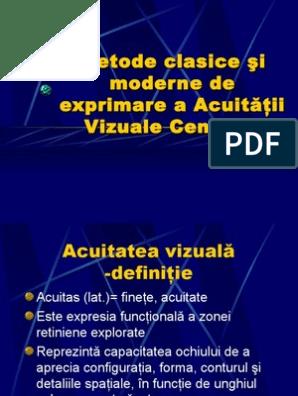 acuitatea vizuală dinamică este)