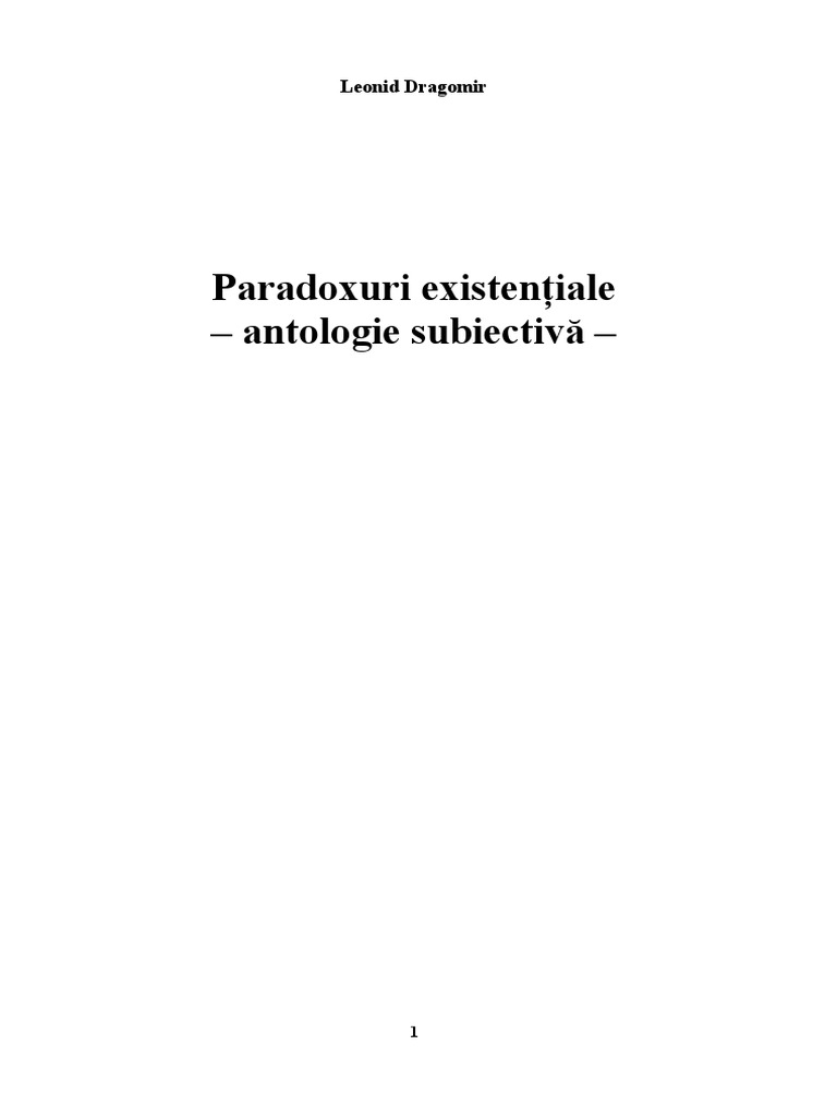paradoxuri de vedere ce este)