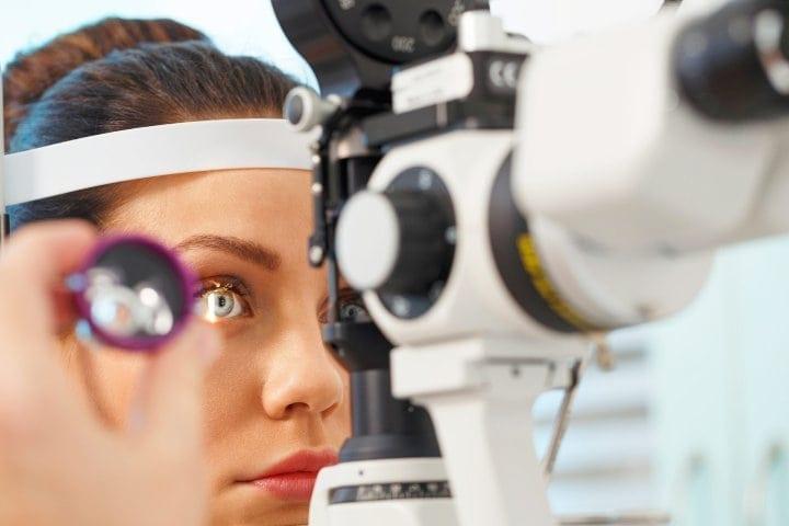 examinarea optică a vederii)