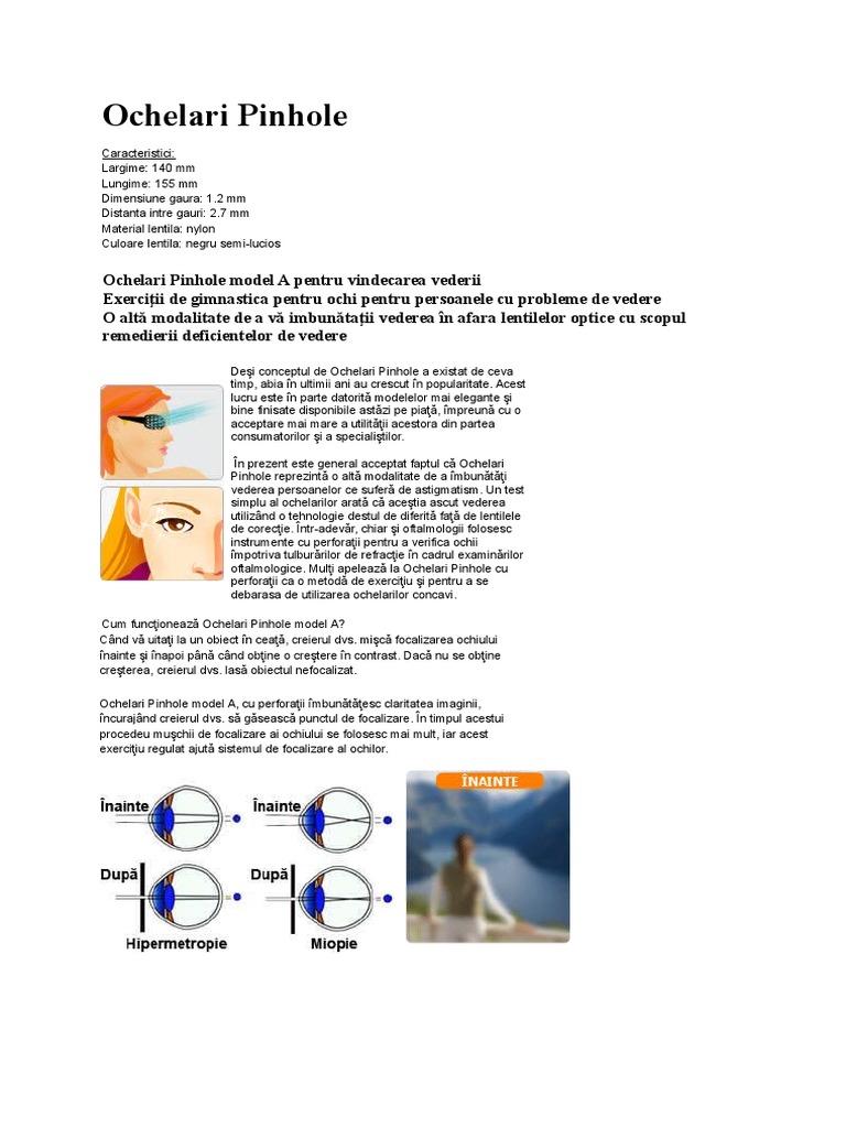 cum sau cum îți poți îmbunătăți vederea tratament spa al organelor de vedere