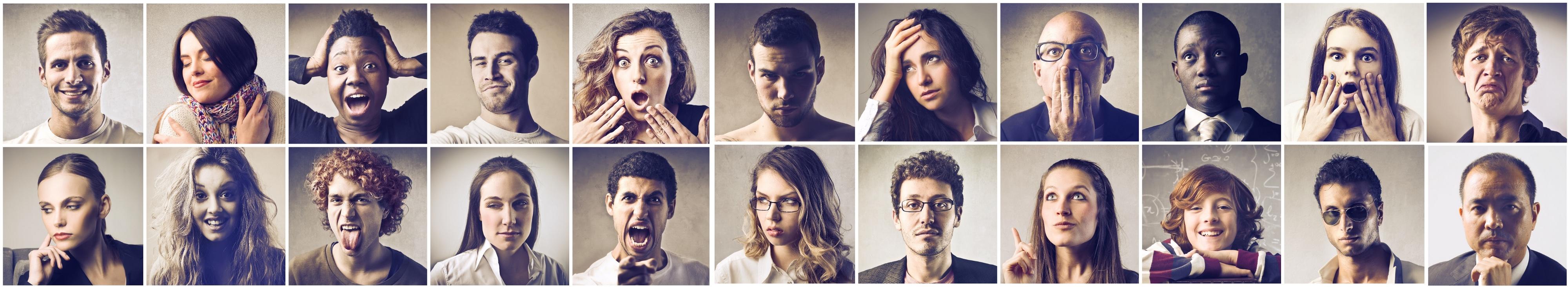 expresii faciale dispret test de vedere foropter