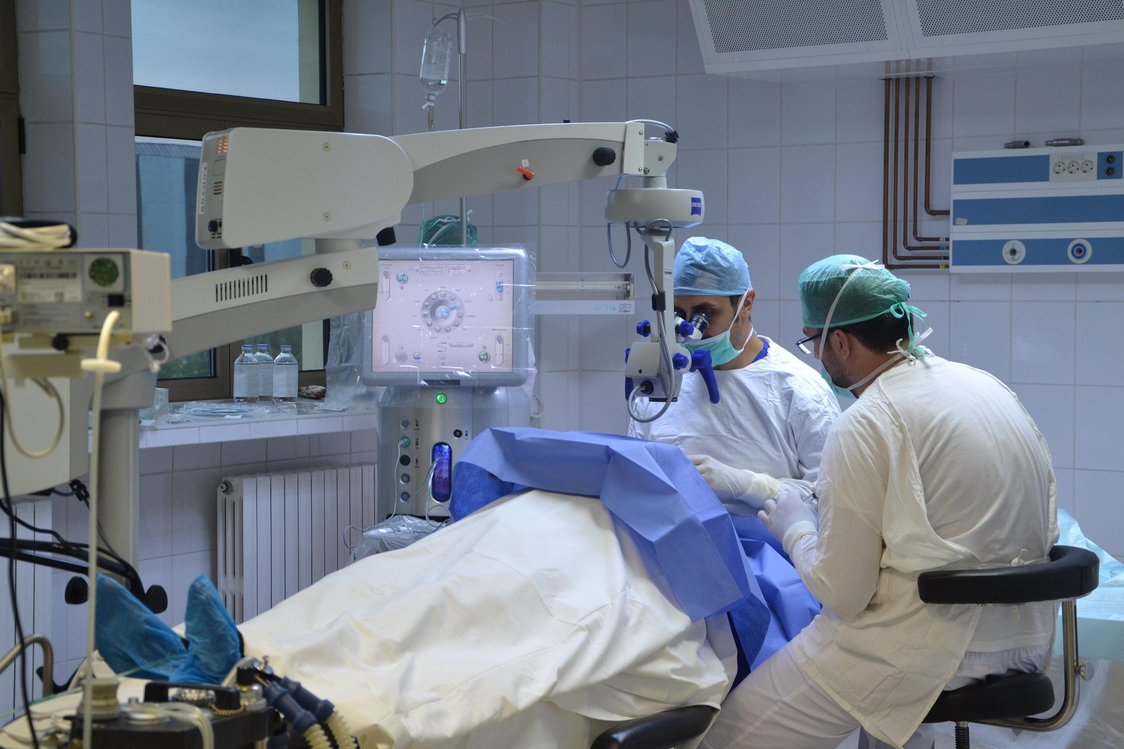 injectarea a îmbunătățit vederea)