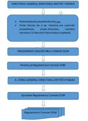 norma de viziune pentru comisia de conducere)