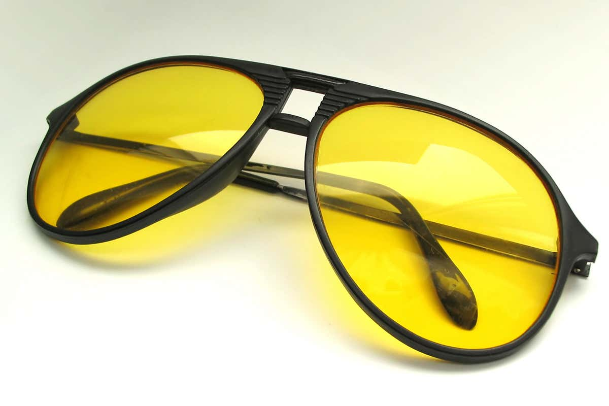 ochelari galbeni pentru vedere)