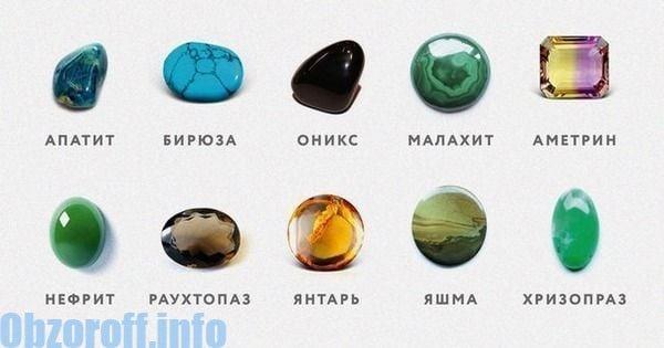 pietre pentru tratamentul vederii