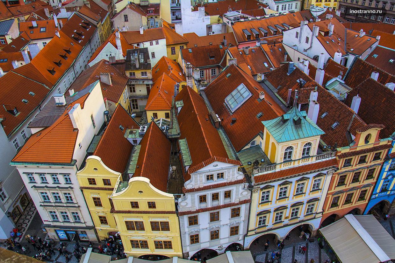 test de ochi în pasajul Praga