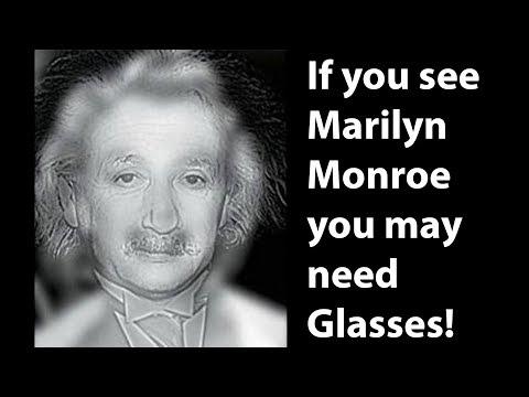 Testul de vedere Einstein Monroe
