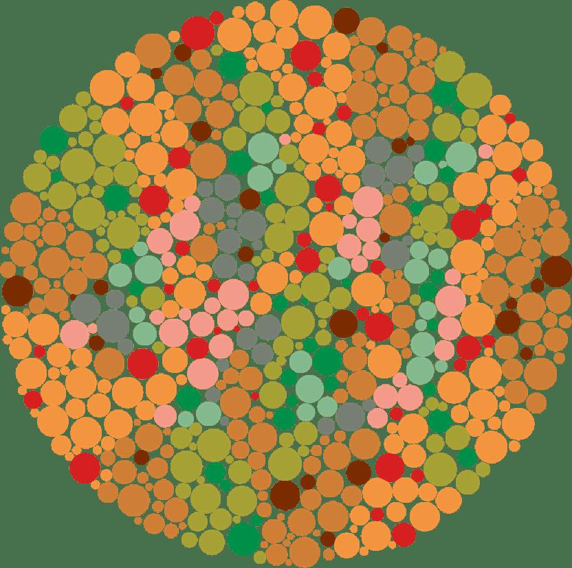 testarea vederii culorilor