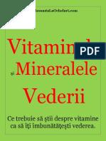 vitamine pentru vederea vederii