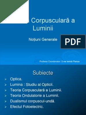 viziune corpusculară