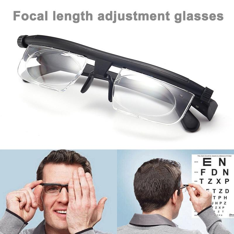 Zoom puterea reglabil viziunea portabil variabil lentile ochelari distanta Focus