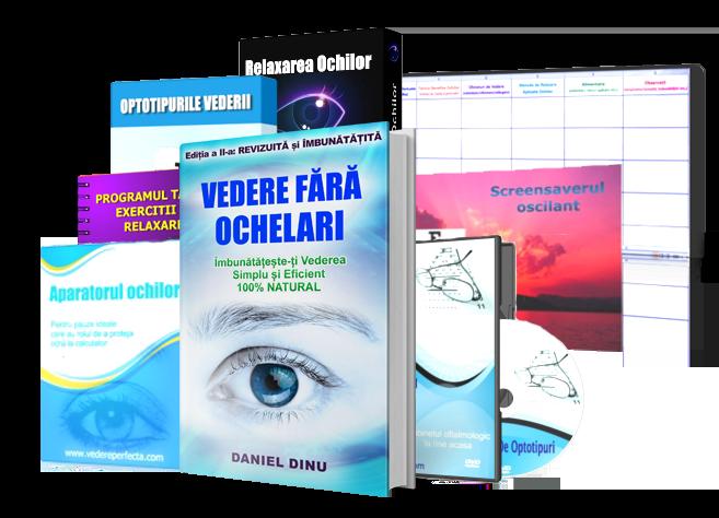 carte de antrenament pentru ochi
