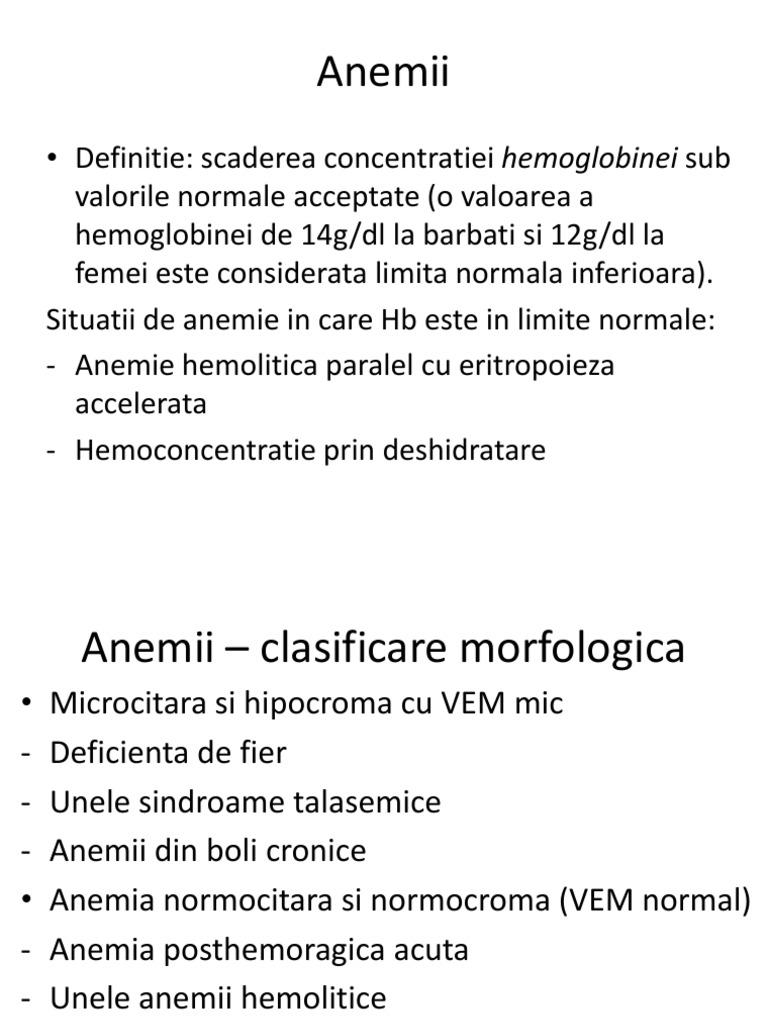 Are vedere afectată de anemie