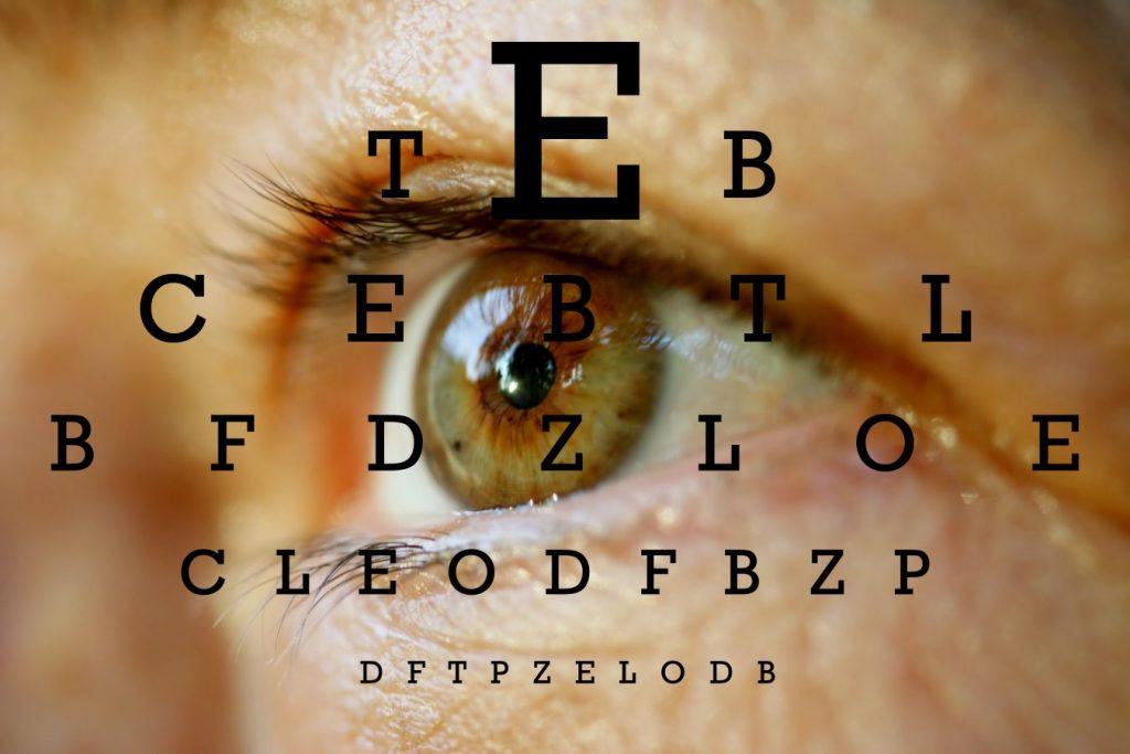 controlul vederii în glaucom)