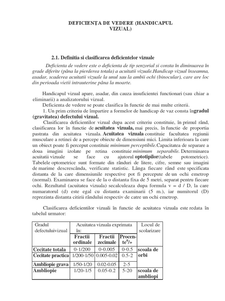 JURIDICE » Ministerul Public ref. persoanele cu handicap vizual
