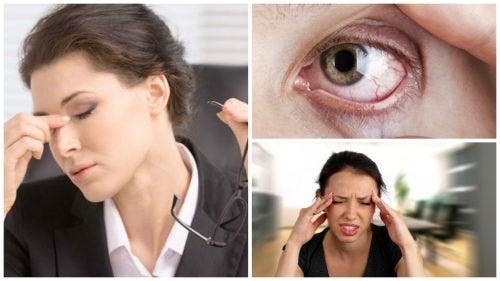 tulburare vizuală la un ochi)