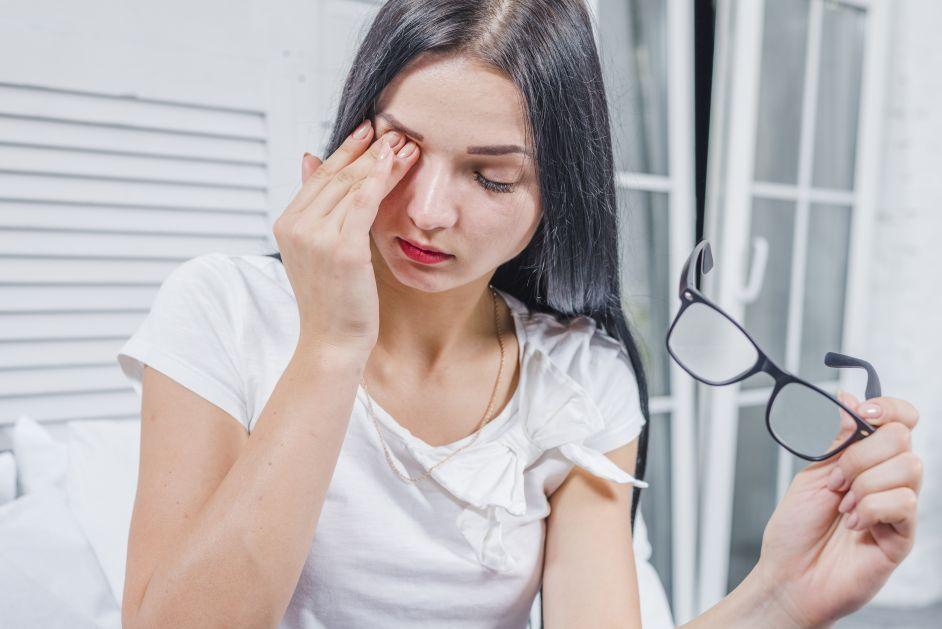 scăderea vederii în timpul nașterii
