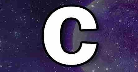 semn cu litere pentru vedere)
