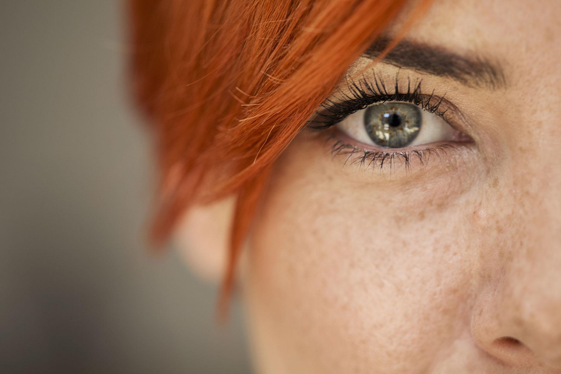 vederea și ochii)