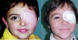 bandaj pentru restabilirea vederii)
