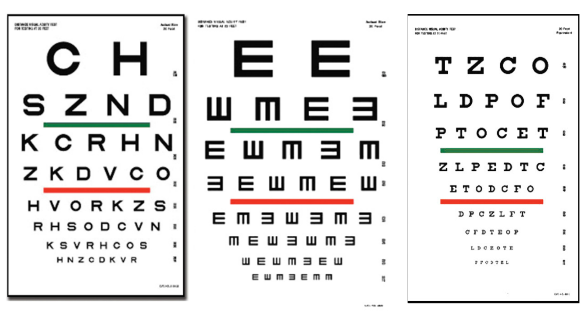 litere pentru dimensiunea vederii)