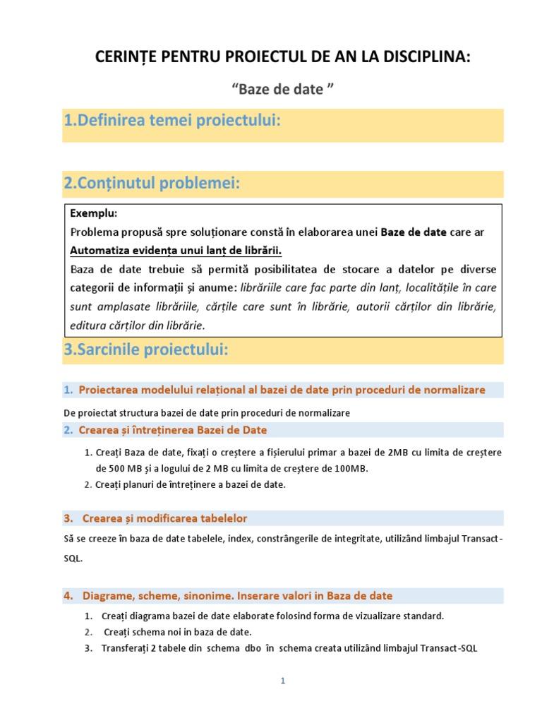 informații de bază despre tabelul de viziune)