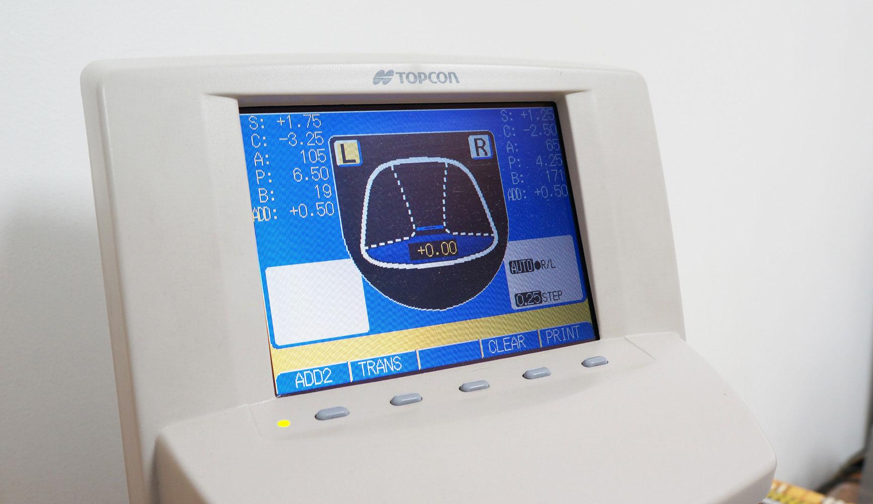 perimetru electronic pentru oftalmologie