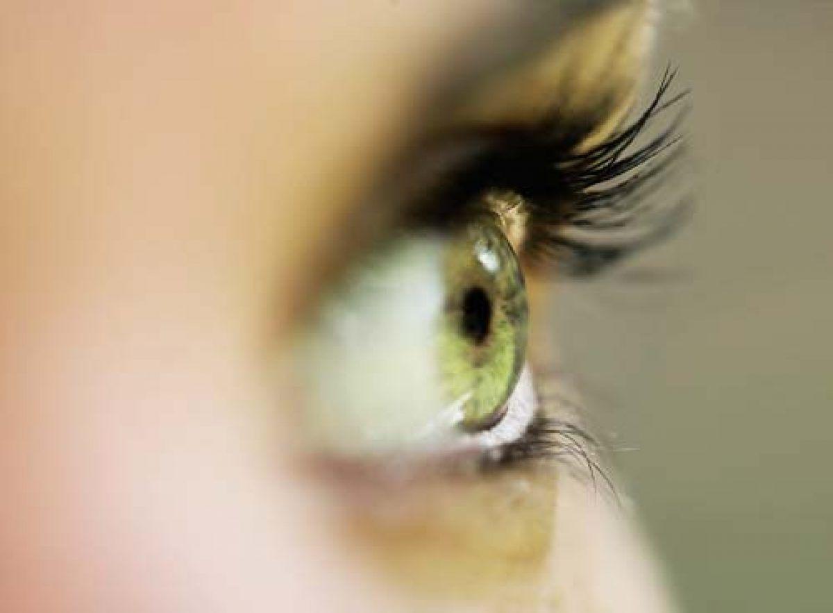 vedere încețoșată vedere din față