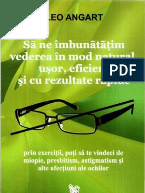 miopie restabilirea vederii după bates)