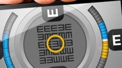 Tabel pentru verificarea vederii și care ar trebui să fie distanța