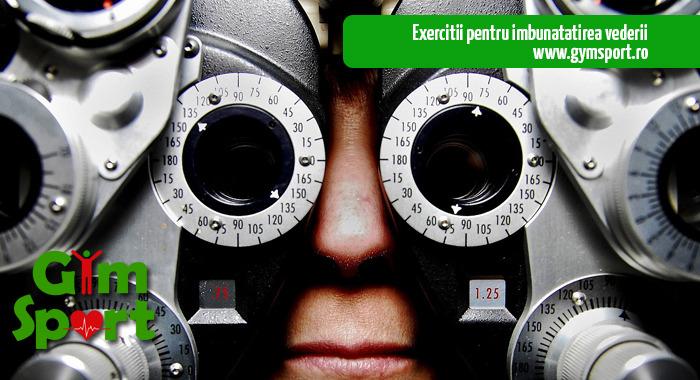 activitate fizică a vederii