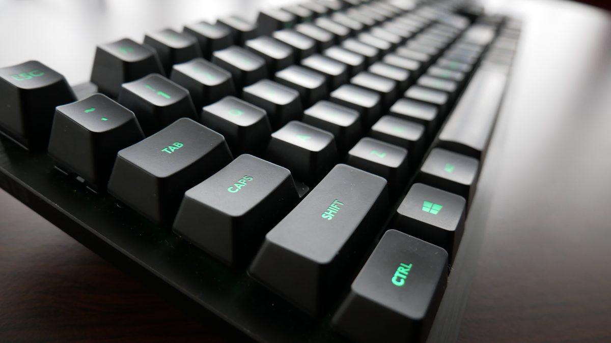 tastatură pentru o viziune slabă)