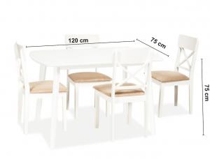 distanță de vedere la masă