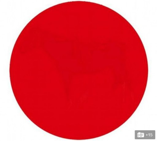 cerc vizual cerc roșu