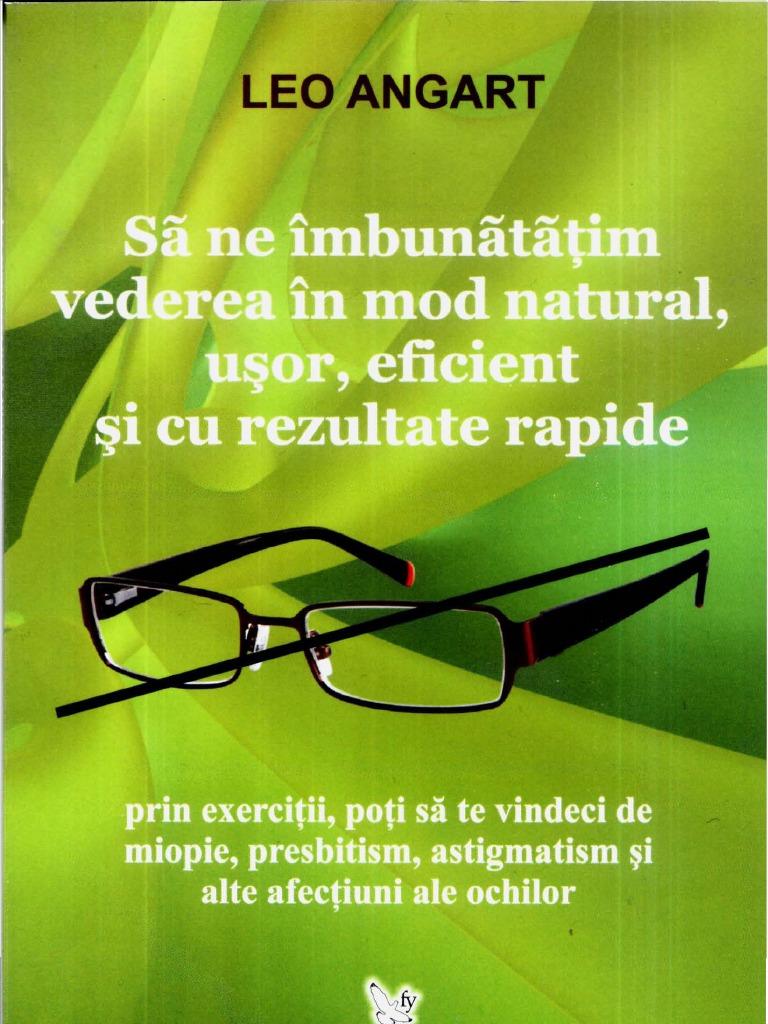 Exerciții pentru ca ochii să îmbunătățească și să restabilească vederea