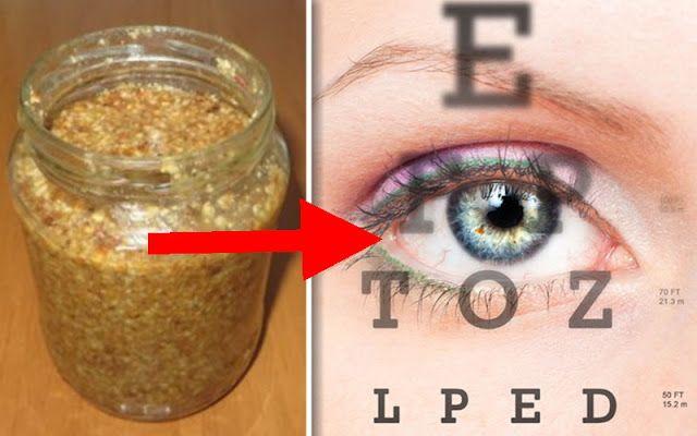 mierea îmbunătățește vederea)