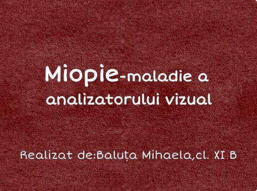 Miopie minus una