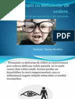 Educarea Copiilor Cu Vedere Slaba Mircea Stefan