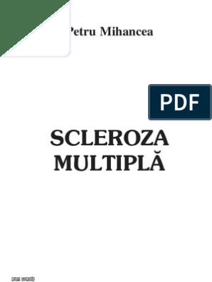 plan de examinare pentru scleroza multiplă suspectată