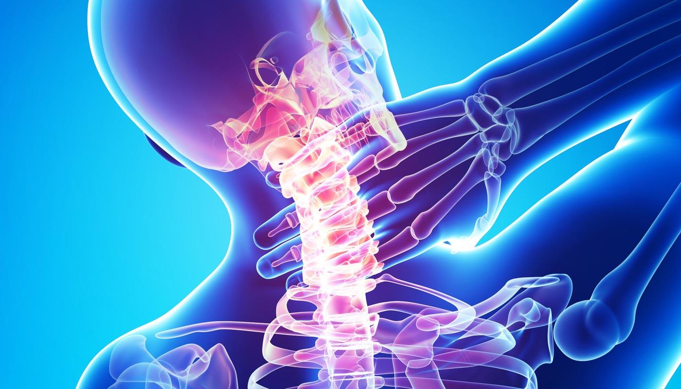 relația coloanei vertebrale și a vederii)