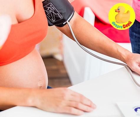 scăderea vederii în timpul nașterii)