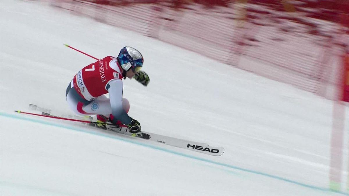 schi alpin cu viziune slabă)