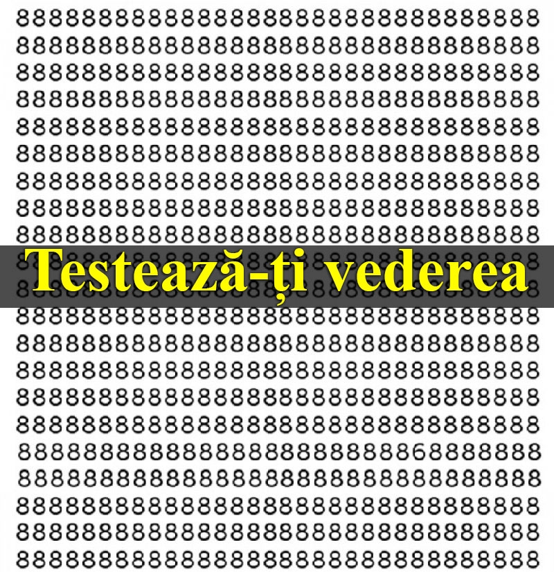 testează-ți vederea)