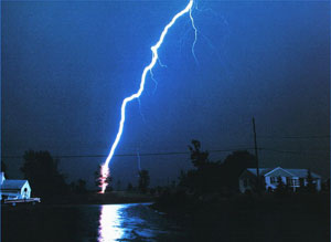 viziune asemănătoare fulgerului)